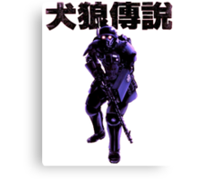 Jin Roh Trooper Canvas Print