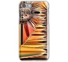 Crosshatched Sun iPhone Case/Skin