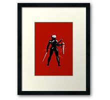 Raiden [Metal Gear Rising] Framed Print