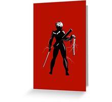 Raiden [Metal Gear Rising] Greeting Card