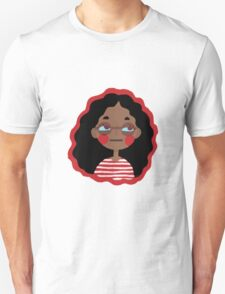 Stripe Girl Unisex T-Shirt