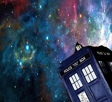 Tardis Galaxy by astraeanm