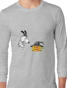 snoopy halloween Long Sleeve T-Shirt