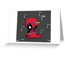 funny characters Greeting Card