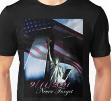 9/11 Never forget Unisex T-Shirt