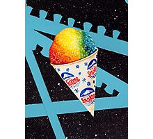 Snow Cone Photographic Print