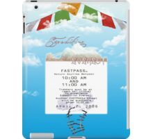 Expedition Everest Fastpass iPad Case/Skin