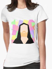 Abstract Richard M Stallman Womens Fitted T-Shirt