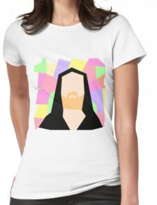 Abstract Richard M Stallman Womens Fitted T-Shirt
