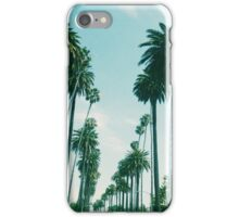Beverly Hills Palm Trees iPhone Case/Skin
