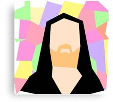 Abstract Richard M Stallman Canvas Print