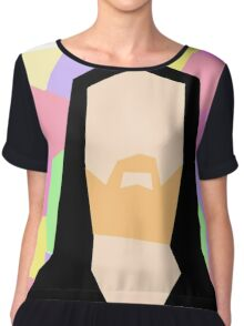 Abstract Richard M Stallman Chiffon Top