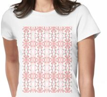 paintbrush pattern 2 Womens Fitted T-Shirt