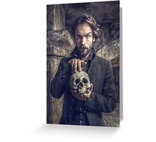 Ichabod and Friend Greeting Card