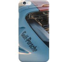 1969 Gulf Porsche 917, chassis 017/004: aero details iPhone Case/Skin
