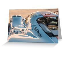 1969 Gulf Porsche 917, chassis 017/004: aero details Greeting Card