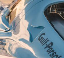 1969 Gulf Porsche 917, chassis 017/004: aero details Sticker