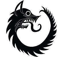 Garm - Beowulf - The Black Dog - Viking Photographic Print