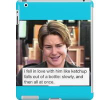 The Fault In Our Ketchup iPad Case/Skin