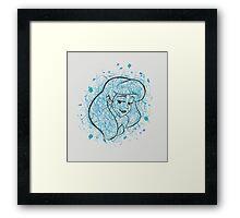 Ariel. Framed Print