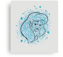 Ariel. Canvas Print