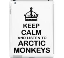 Keep Calm And Listen To Arctic Monkeys iPad Case/Skin