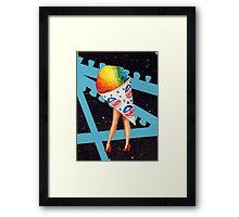 My Fair Ladies- Snow Cone Framed Print