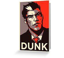 Darius League Of Legends - Dunk Greeting Card