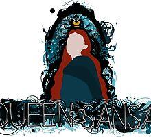 Queen Sansa by AleValStra