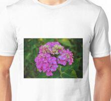 Pink Hydrangea Unisex T-Shirt