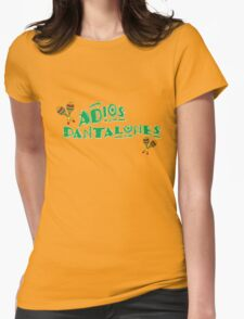 adios Womens Fitted T-Shirt