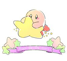 Kirby - Reach for the Stars Photographic Print