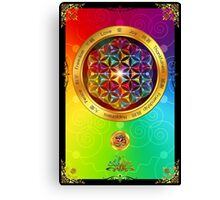 The Flower of Life Canvas Print