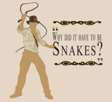Indiana Jones- Snakes by Margybear