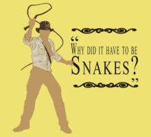 Indiana Jones- Snakes Kids Clothes