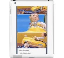 GTA5 hardcore remis iPad Case/Skin