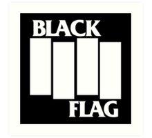 BLACK FLAG Art Print