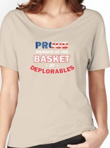 DEPLORABLE Women's Relaxed Fit T-Shirt