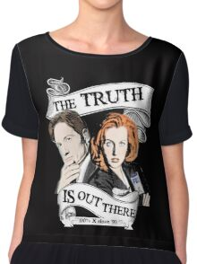 The Truth Is Out There Chiffon Top