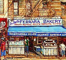 FERRARA BAKERY NEW YORK CITY by Carole  Spandau