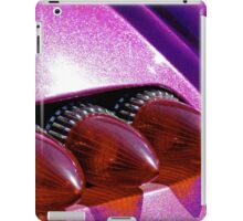Bullet tail lights and purple metal flake iPad Case/Skin