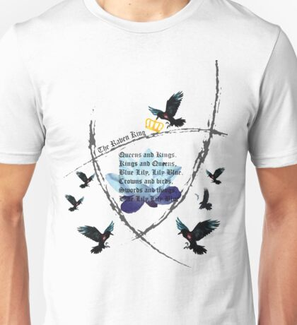 The Raven Cycle- Blue Lily, Lily Blue Unisex T-Shirt