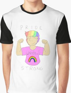 Pride Strong Graphic T-Shirt