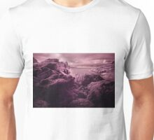 Infra Red Seaweed Rock , Broad Haven, Pembrokeshire Unisex T-Shirt