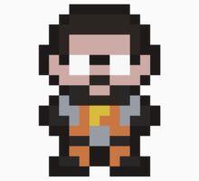 Pixel Gordon Freeman Kids Tee