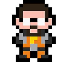 Pixel Gordon Freeman Photographic Print