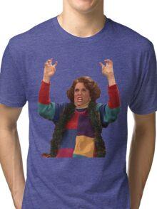 Kristen Wiig: freakin excited  Tri-blend T-Shirt