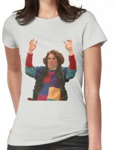 Kristen Wiig: freakin excited  Womens Fitted T-Shirt