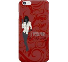 Mia Wallace- So Dance Good iPhone Case/Skin