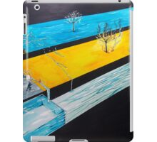 Playing with the states of matter iPad Case/Skin